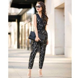 NWT Vince Camuto Lace Jumpsuit